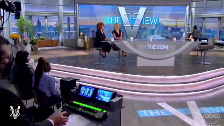Two hosts of 'The View' test positive for Covid on-air seconds before Kamala Harris interview