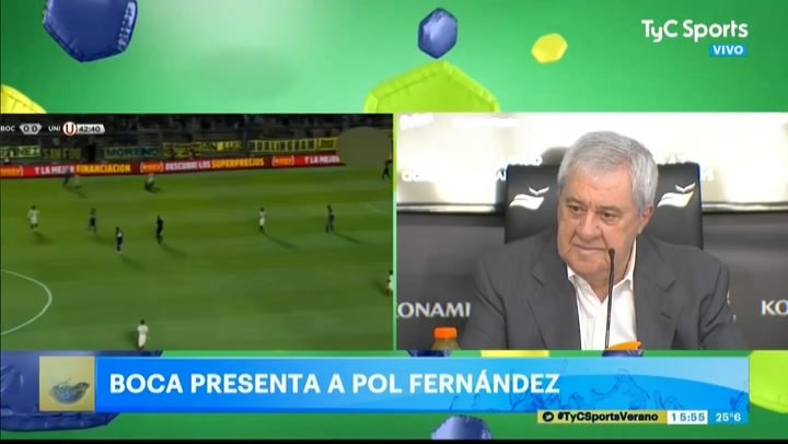 Jorge Ameal ya se mostró muy molesto hace unos meses por los casos de Ramos Mingo y Molina