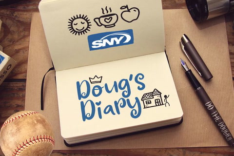 Doug's Diary: Baseball content and food options!