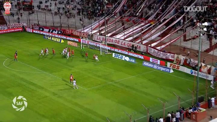 Nicolás Cordero logra el empate en los instantes finales ante Central Córdoba