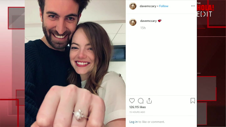 Emma Stone and Longtime boyfriend are engaged