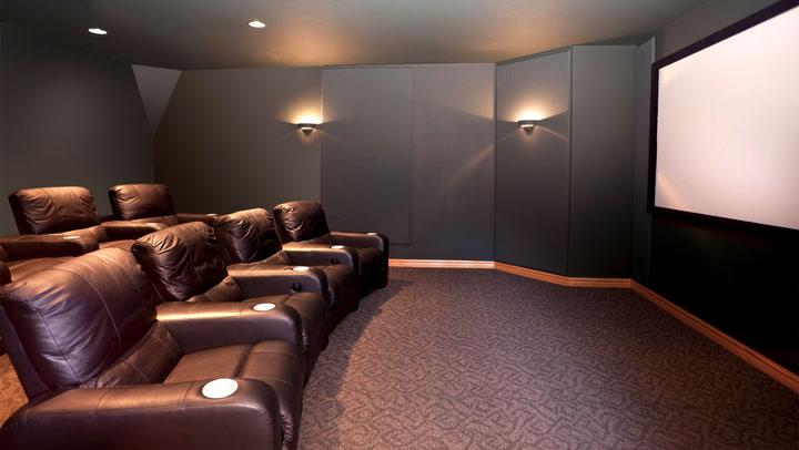budget home theater room. big screen, small budget: how to build a home theater on the cheap budget room