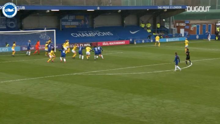 Brighton Women end Chelsea's unbeaten run