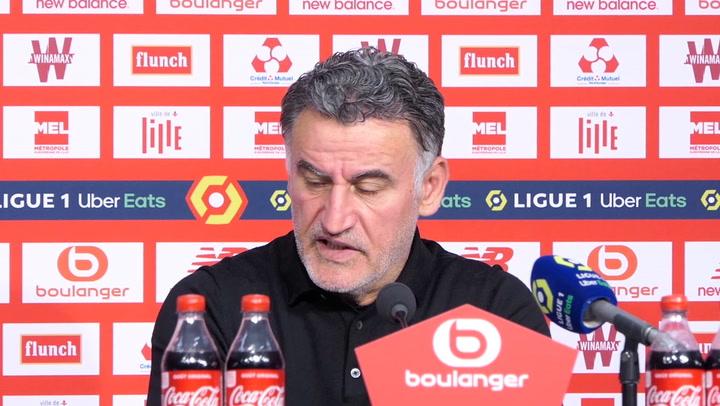 """33e j. - Galtier : """"Luiz Araujo a donné une très bonne réponse"""""""