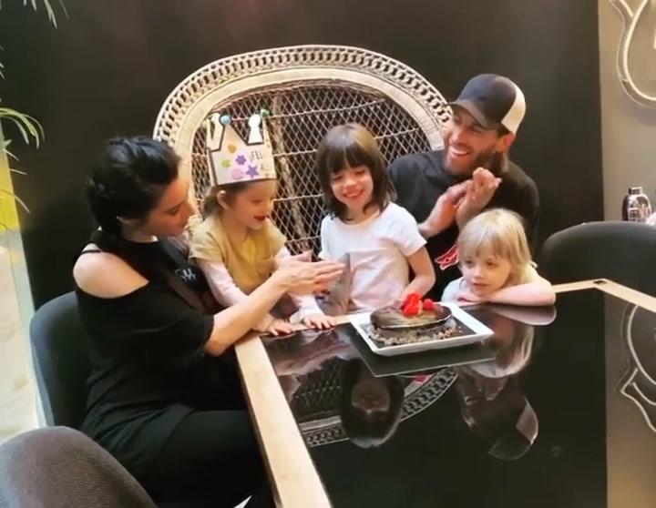 Pilar Rubio y Sergio Ramos celebran el ciumpleaños de Alejandro