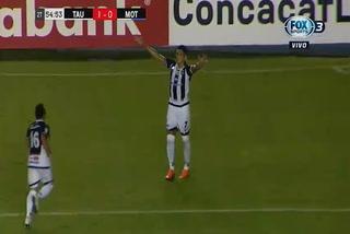 Edwin Aguilar de penal anota el 2 - 0 de Tauro ante Motagua