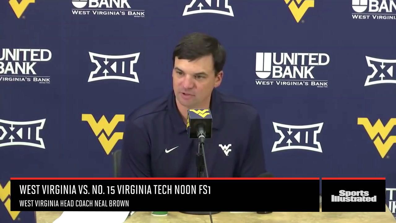 Neal Brown Previews Virginia Tech