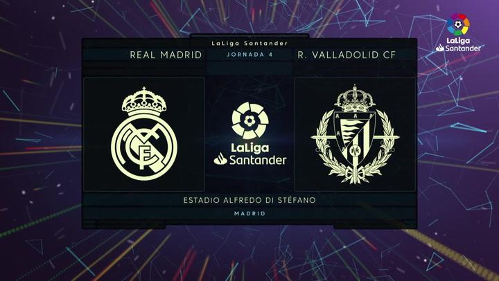 LaLiga (J4): Resumen y gol del Real Madrid 1-0 Valladolid