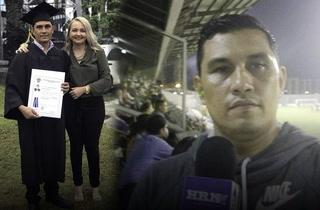 Periodista deportivo se va huyendo de Honduras tras recibir amenazas de muerte