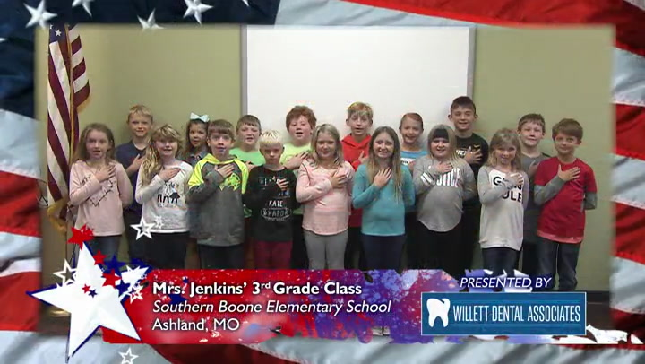 Southern Boone Elementary - Mrs. Jenkins - 3rd Grade