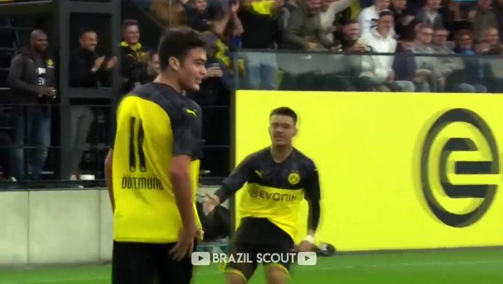 Así juega Gio Reyna, nuevo talento emergente del Dortmund