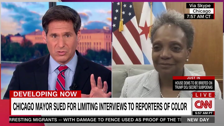 Lightfoot Defends Decision to Block Interview Requests with White Reporters: 'Started Long-Overdue Conversation About Diversity in Newsrooms'