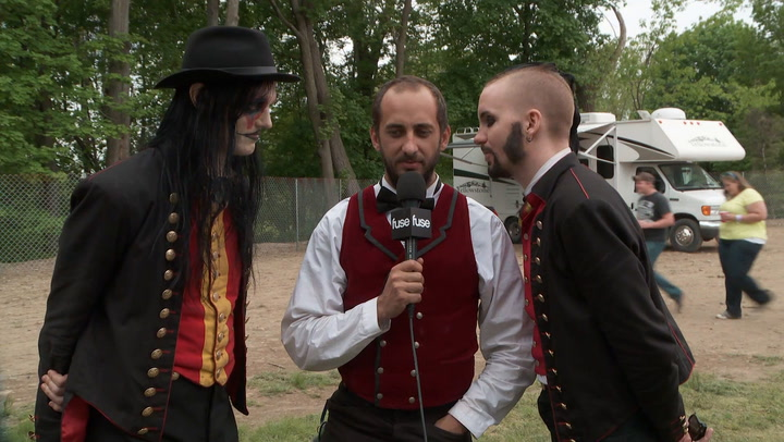 Sweden's Avatar Talk About Being Vampires at Rock 'N Derby