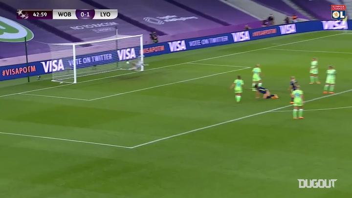 Saki Kumagai hits Champions League final screamer