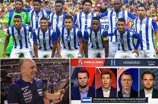 Periodistas de ESPN se deshacen en elogios con  la Selección de Honduras y Fabián Coito