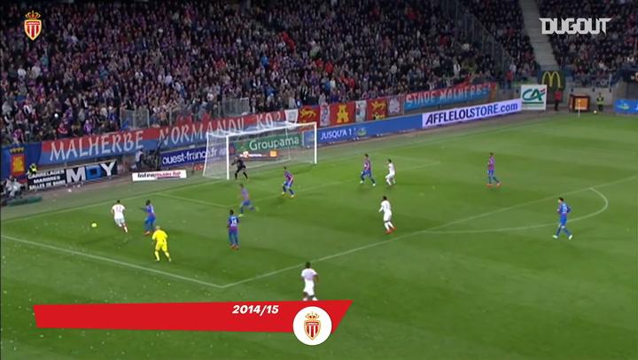 Los cinco mejores goles de Anthony Martial con el AS Mónaco