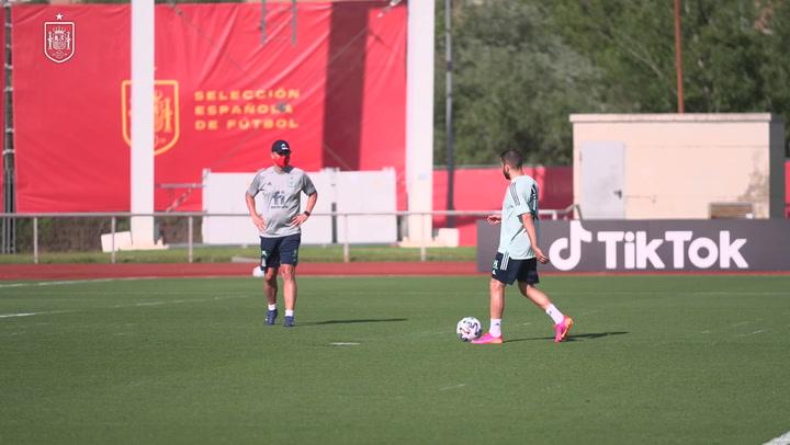 La Selección sigue con los entrenamientos para el inicio de la Euro 2020