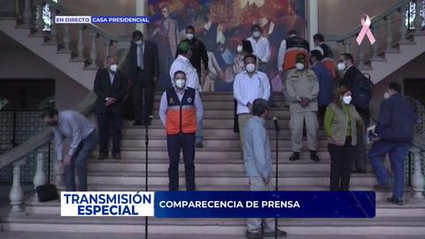 Comparecencia de prensa del señor Presidente de la República Juan Orlando Hernández