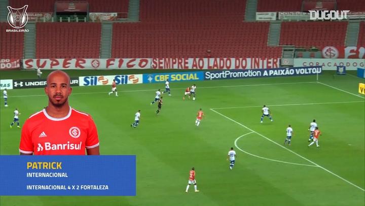 Patrick's superb skill and assist vs Fortaleza