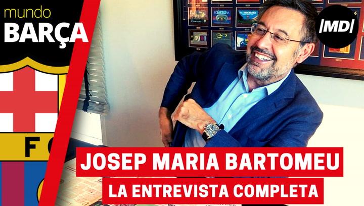 La entrevista completa a Josep Maria Bartomeu