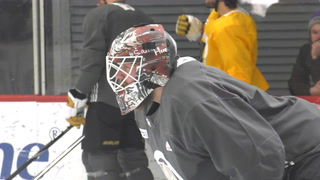 Robin Lehner and Marc-André Fleury make two elite goalies for the Golden Knights – VIDEO
