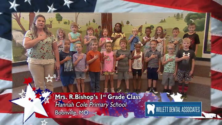 Hannah Cole - Mrs. Bishop - 1st Grade