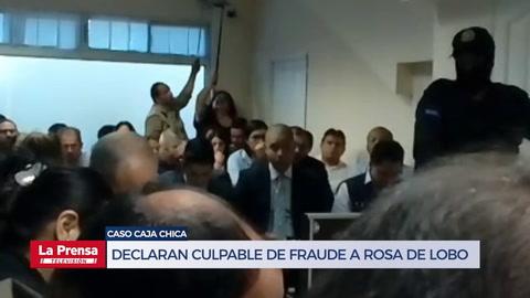 Declaran culpable a ex primera dama de Honduras, Rosa Elena de Lobo