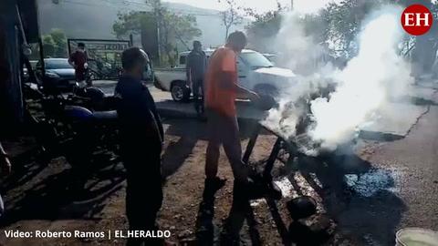Vecinos de la Cerro Grande exigen pavimentación de la carretera hacia Olancho