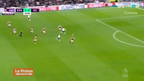 ¡El golazo de Heung-min Son a lo Messi!