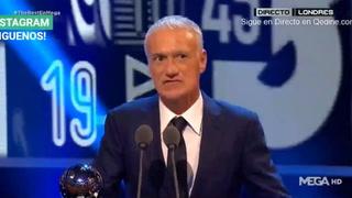 Didier Deschamps elegido como el mejor entrenador del año