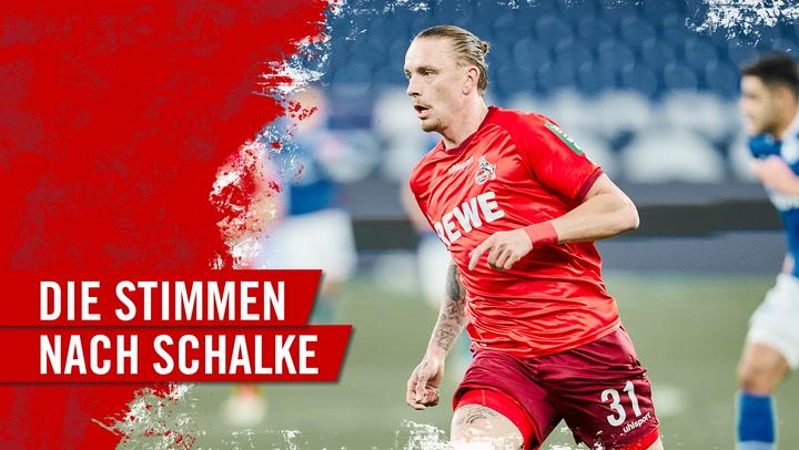 Die Stimmen nach Schalke