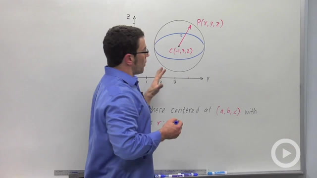 The Midpoint and Distance Formulas in 3D - Problem 2