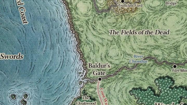 'Forgotten Realms' Lore: Civilization in the Heartlands - A History of  Baldur's Gate