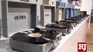 CES 2019 – Victrola record players spin in Las Vegas