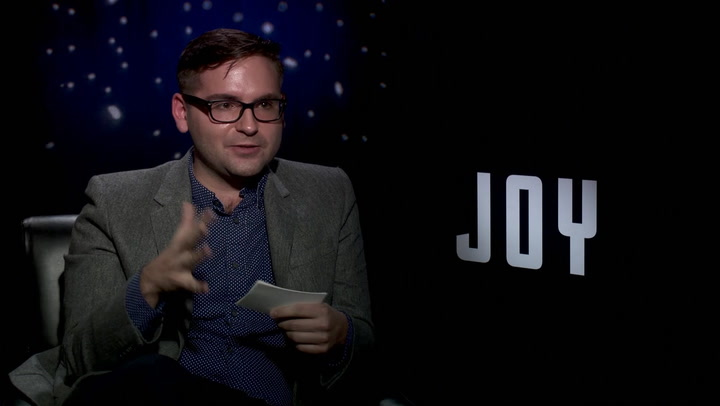 Jennifer Lawrence 'Joy' Interview