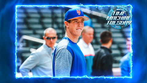 Mets first round pick Brett Baty makes noise at Citi Field