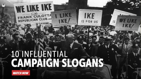 10 Influential Campaign Slogans