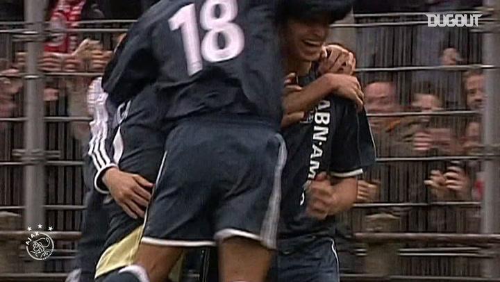 Zlatan Ibrahimović's incredible acrobatic finish vs AZ Alkmaar