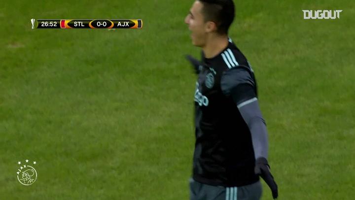 El gol de Anwar El Ghazi ante el Standard de Lieja