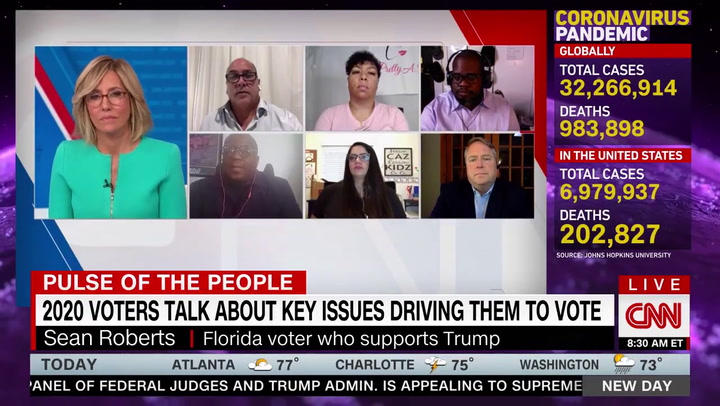 Voters Tell CNN Why They Are Supporting President: Trump 'Is Bringing Us Together'
