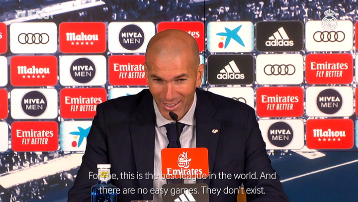 Zidane: 'It's a tough league'