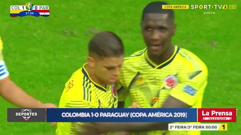 Colombia 2-0 Paraguay (Copa América 2019)
