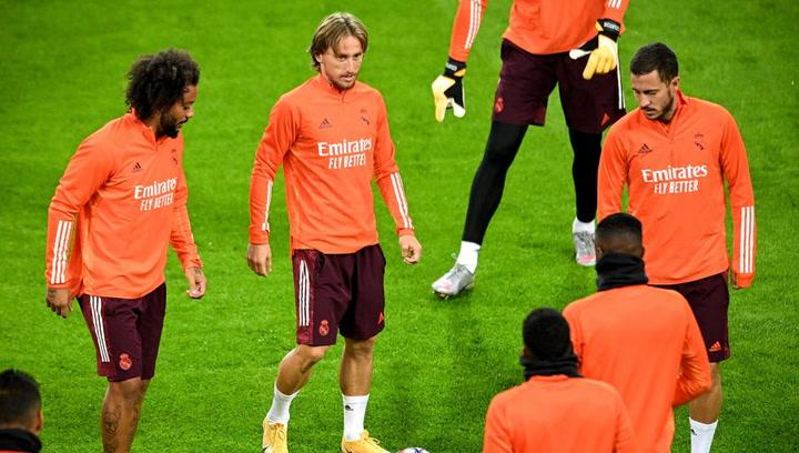 Hazard y Marcelo, titulares ante el Huesca