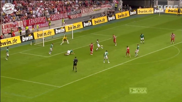 Debut Goals: Franck Ribéry Vs Bremen