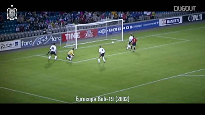 Gols de título de Fernando Torres pela seleção espanhola