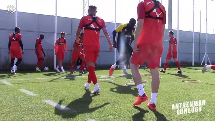 Sivasspor'un Kayserispor Hazırlıkları
