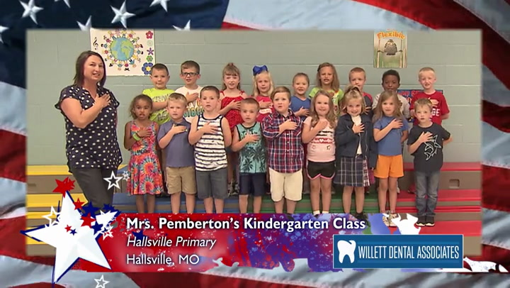Hallsville Primary - Mrs. Pemberton - Kindergarten