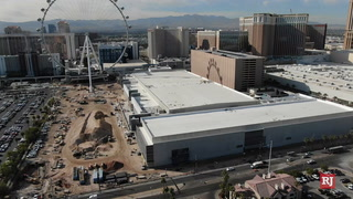 Caesars Forum Convention Center Starts Selling Space – Video