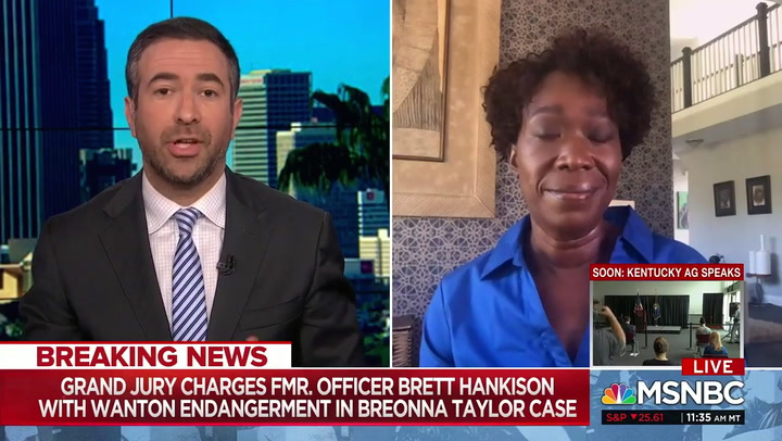 MSNBC's Reid: Indictments in Breonna Taylor Case Are a 'Black Lives Don't Matter Ruling'
