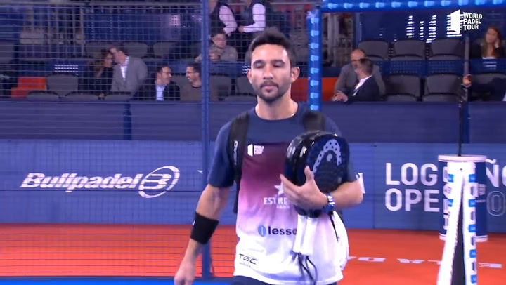 World Pádel Tour Logroño 2019: Resumen de la final masculina entre Maximiliano Sánchez y Paquito Lebrón